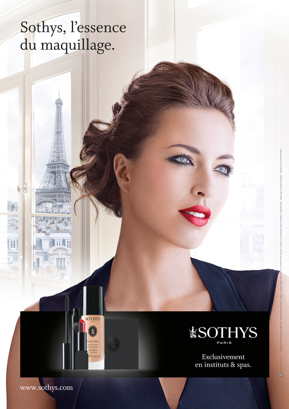 jf verganti Sothys Annonce presse maquillage 2013